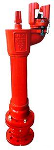 EFEKT hydrant podziemny kulowy DN100 EN14339