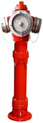 EFEKT hydrant nadziemny DN100 pojedyncze zamknięcie TYP C  ŁAMANY