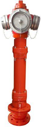 EFEKT hydrant nadziemny DN100 podwójne zamknięcie TYP C ŁAMANY