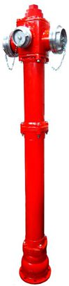 EFEKT hydrant nadziemny DN150 pojedyncze zamknięcie TYP C ŁAMANY