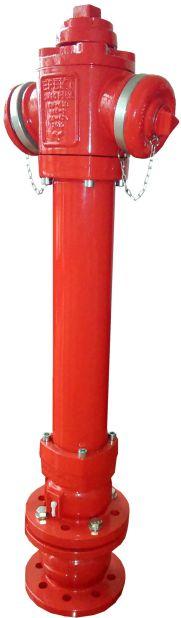 EFEKT hydrant nadziemny DN80 podwójne zamknięcie kula kolowy 9719