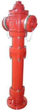 EFEKT Spółka Akcyjna Hydrant nadziemny łamany DN80 typ c pn10/16 pn-en 14384 storz, z systemem łamania