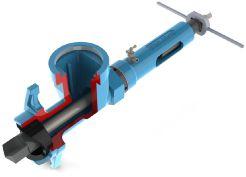 ARMATURA EFEKT S.A. - aparat do nawiercania pod ciśnienie rur żeliwnych stalowych pcv i pe aparat nawiercający aparat do rur wodociągowych wiercenie pod ciśnieniem aparat do nawiertek nowe przyłącze wykonanie nowego przyłącza jak zrobić nowe przyłącze wodociągowe WOD-KAN