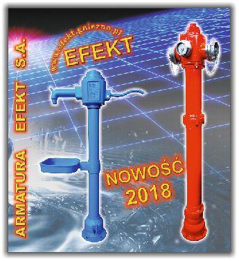 ARMATURA EFEKT S.A. - katalog hydranty nadziemne hydrant podziemne zasuwy kołnierzowe nawiertki ncs nawiertki nwz nawiertki ns nawiertki nw obudowy sztywne skrzynki uliczne żeliwo pn10 żeliwo pn16
